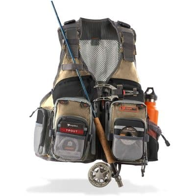 Anglatech Fly Fishing Vest Pack [trout fishing]