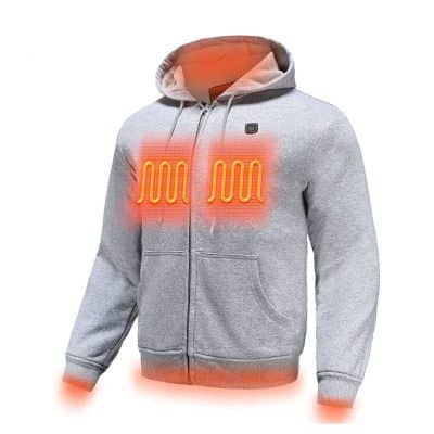 MYHEAT Heated Hoodie for Men Electric Sweater