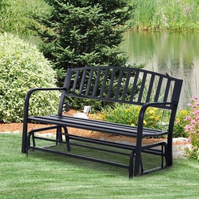 Outsunny Outdoor Glider Bench