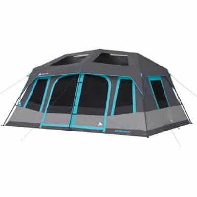Ozark Trail Dark Rest 10-Person Instant Cabin Tent