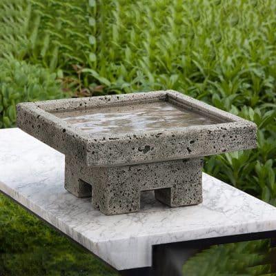Campania International Bird Bath