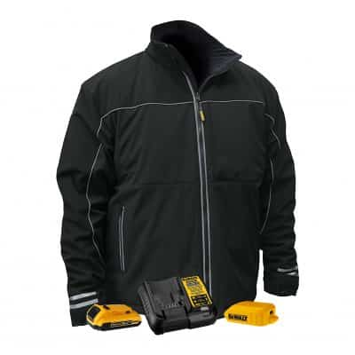 DEWALT DCHJ072 Lightweight Soft Shell Heated Jacket