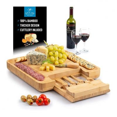 ZULAY (large) Bamboo Cheese Board and Sets