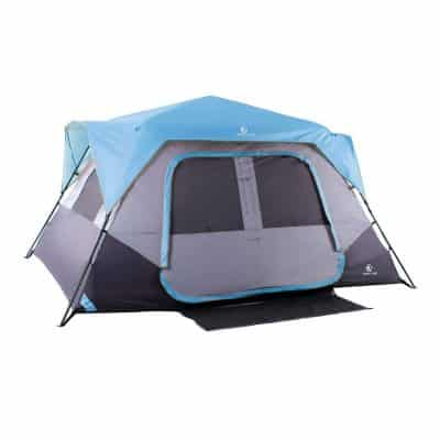 Camping World Family 8 Person Camping Cabin Tent - Easy Setup
