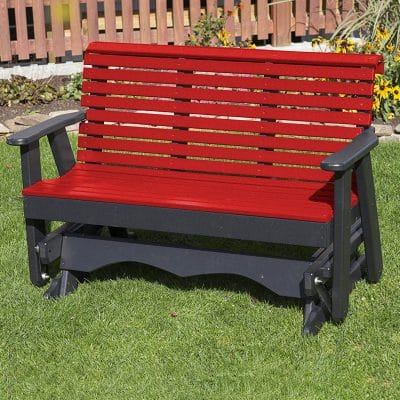 Ecommersify PolyTuf HDPE Porch Glider