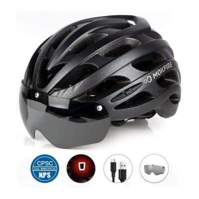 MOKFIRE Adult-Bike Helmet