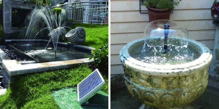 Best Solar Fountain Pumps in 2020