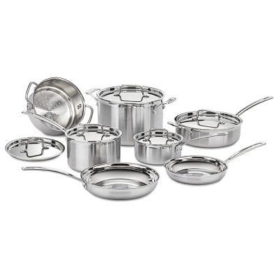 Cuisinart MCP-12N Multiclad Cookware Set