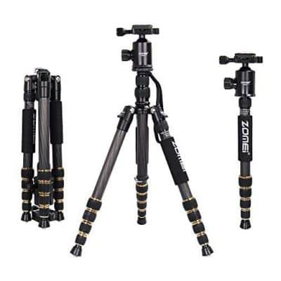 ZOMEi Z669C Carbon Tripod Kit