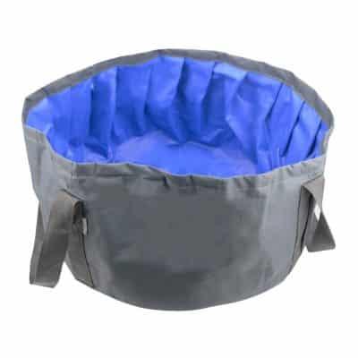 LILYS PET Portable Foldable Dog Bath Tub 18 x 18 x 9 Inches