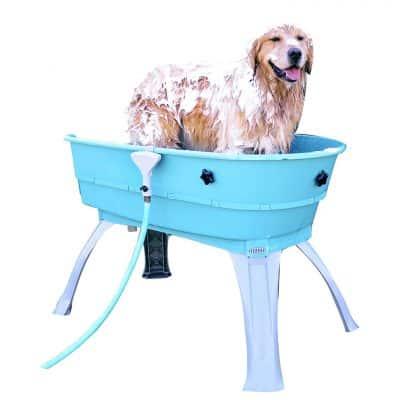 Booster Bath Elevated Dog Bath Tub