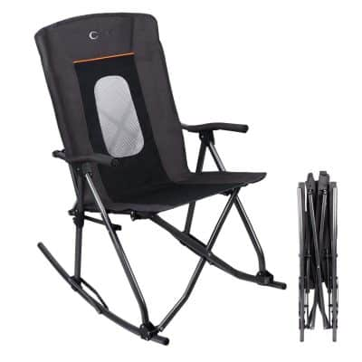 PORTAL Oversized Quad Folding Camping Rocking Chair