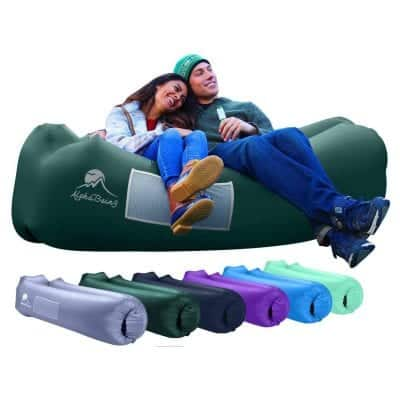 AlphaBeing Inflatable Lounger for Picnics/Festivals