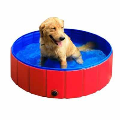GRULLIN Pet Swimming Pool Portable Foldable Pool