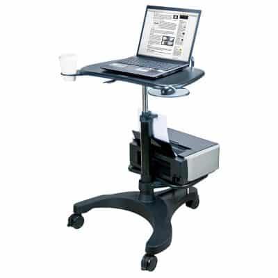 Aidata Ergonomic Sit-Stand Laptop Cart
