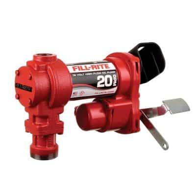 Fill-Rite FR4204G 12V 20 GPM Fuel Transfer Pump