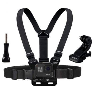 Sametop Chest Mount Harness for GoPro Camera