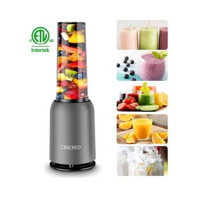 [ Updated 2020 Version] Personal Countertop Blender
