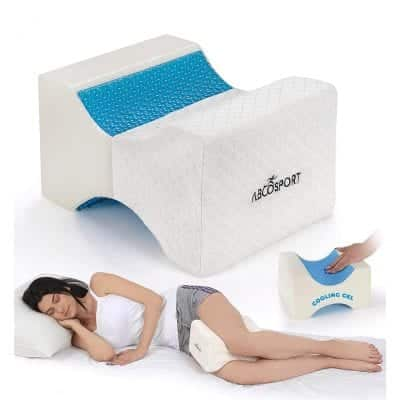 Abco Tech Knee Pillow with Cooling Gel