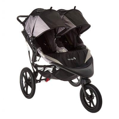 Baby Jogger Summit X3 Fold Double Jogging Stroller