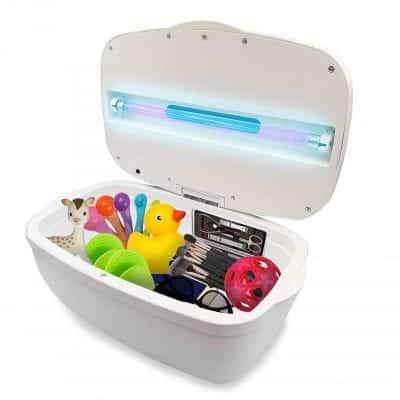 JJ CARE UV Light Sanitizer Box 99% Sterilization