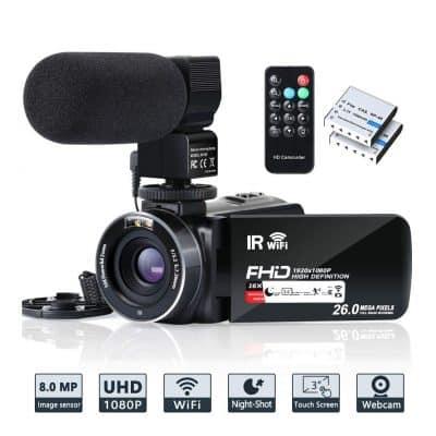 LINNSE 4K Camera Camcorder