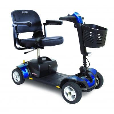 Pride Mobility S74 Go-Go Electric Scooters for Adults