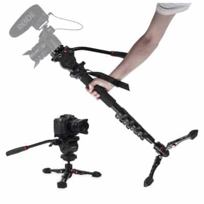 "ASHANKS Camera Monopod 65"" Telescopic Monopod"
