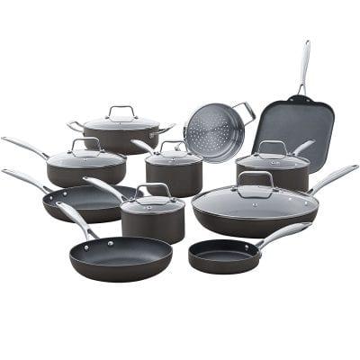 Amazon Brand Stone and Beam Kitchen Cookware Set