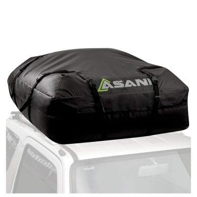 Asani Waterproof Cargo Carrier Bag Car Roof Top Roofbag for Sedan Vans and SUV