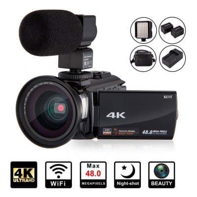 KOT 4K Camcorder Video Camera