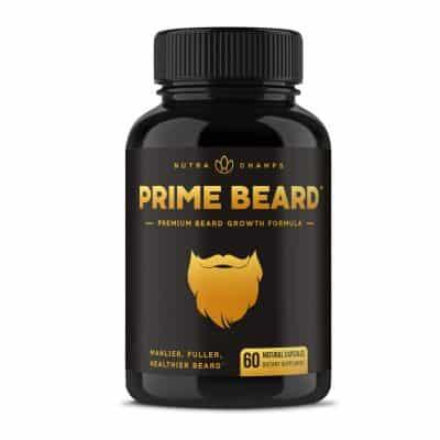 NutraChamps Beard Growth Men's Supplement