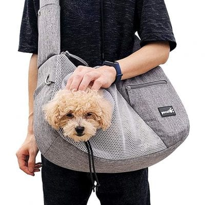 Pecute Pet Carrier Small Cat Dog Sling Carrier