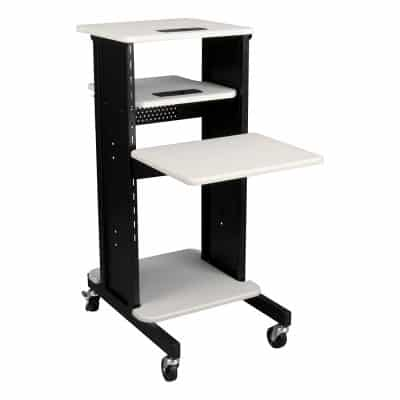 The NOR-TY1000BK-SO Laptop Caddy Cart