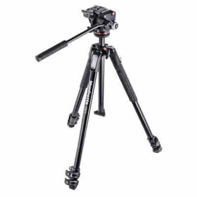 Manfrotto Aluminum 3 Section Tripod Kit