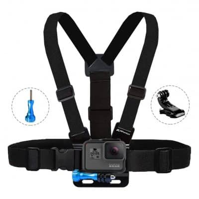 MiPremium Chest Mount Compatible with GoPro