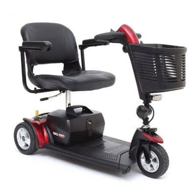 Pride Go-Go Sport 3 Wheel Mobility Scooter