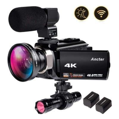 ZOHULU 4K Video Camcorder