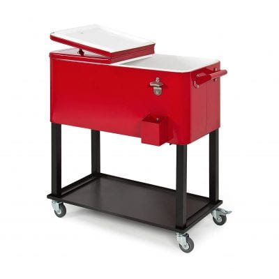 Best Choice Products 80-Quart Rolling Cooler