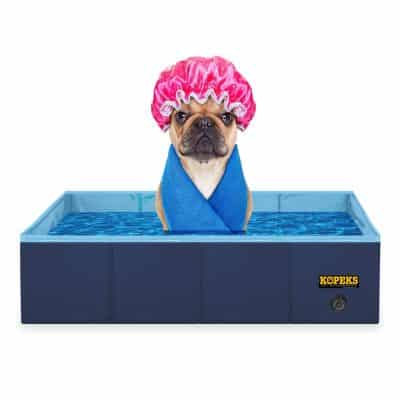 KOPEKS Outdoor Rectangular 31 x 20 Inches Swimming Tub