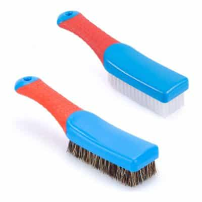 Mast Heavy Duty Comfort Grip Carpet Cleaning Brush, Blue