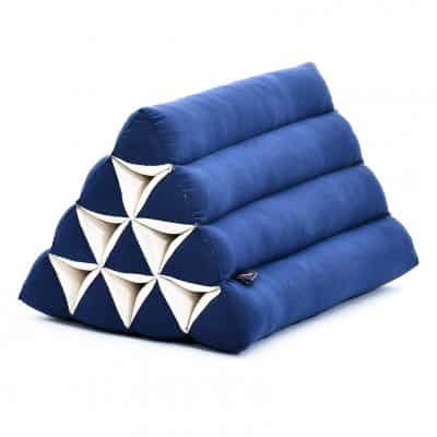 Leewadee Triangle Kapok Cushion Eco-Friendly Reading Pillow