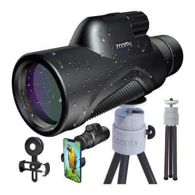 Stellax Upgraded 2020 ZoomX Compact Monocular