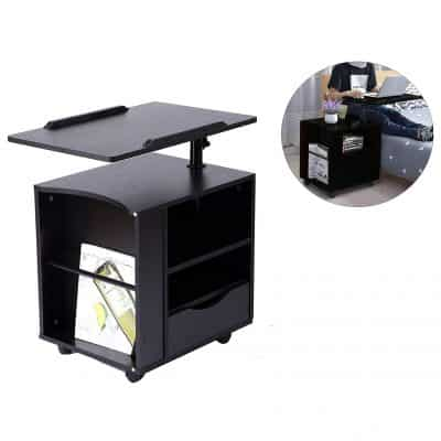 The SIDUCAL Bedside Laptop Cart
