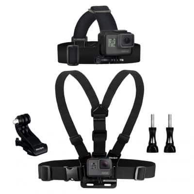 Wealpe Chest Mount Harness For GoPro