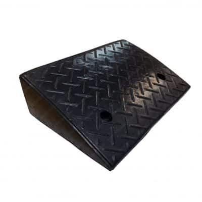 """Electriduct 2-Pack 5.2"""" Rubber Curb Car Ramp"""
