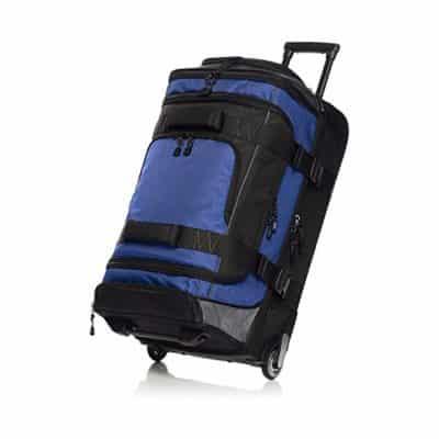 AmazonBasics Rolling Duffel Bag