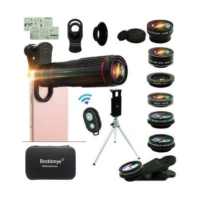 Bostionye Cell Phone Camera Lens Kit