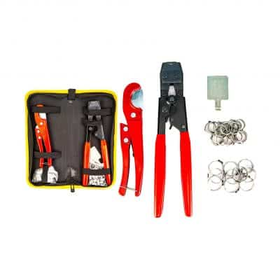 KOTTO Pipe Fitting Pex Crimping Clamp Cinch Tool