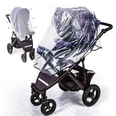 Anchor Life Stroller Rain Cover with Mosquito Net